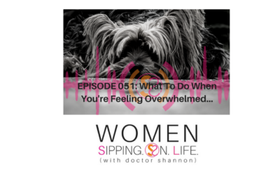 EPISODE 051: What To Do When You're Feeling Overwhelmed