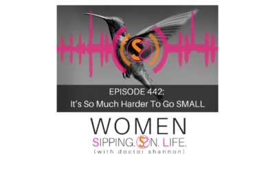 EPISODE 442: It's So Much Harder To Go SMALL