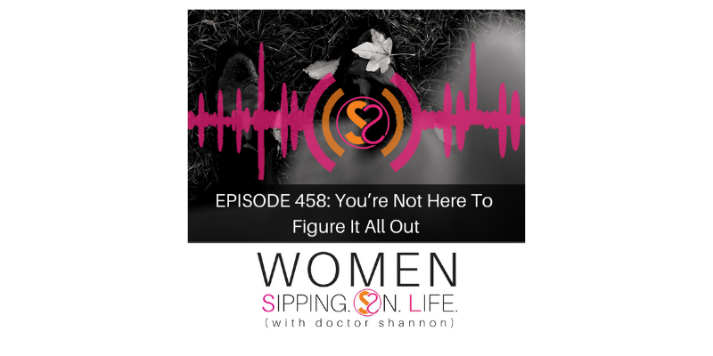 EPISODE 458: You're Not Here To Figure It All Out
