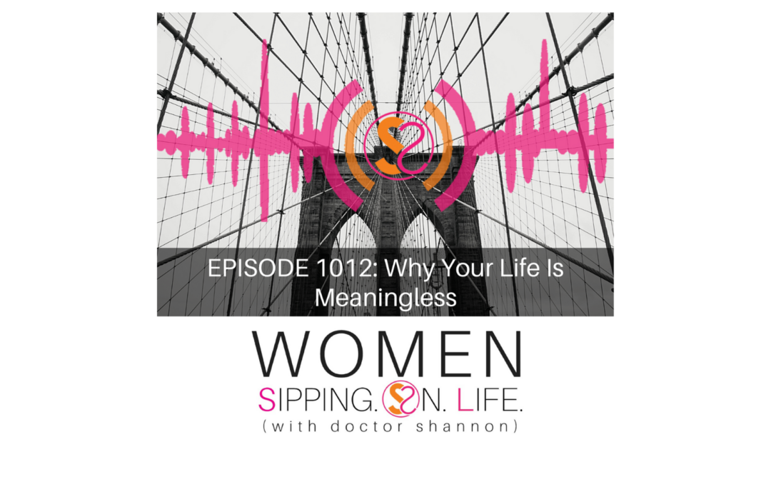 EPISODE 1012: Why Your Life Is Meaningless