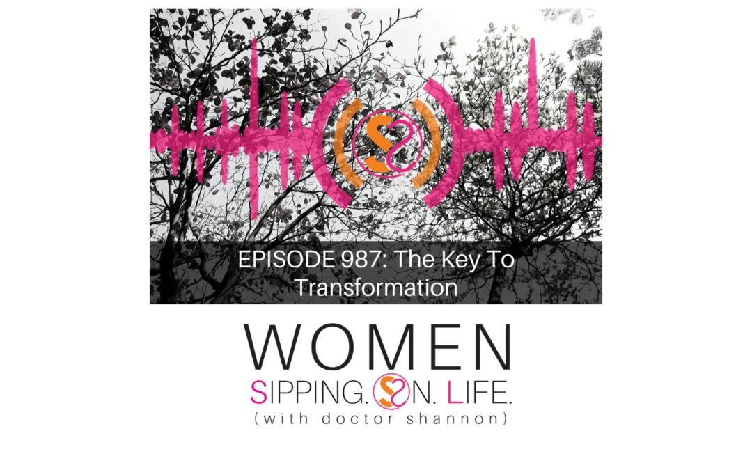 EPISODE 987: The Key To Transformation