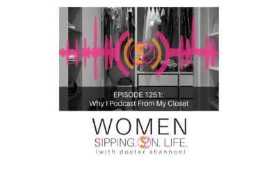 EPISODE 1251: Why I Podcast From My Closet